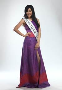 Astrid Ellena Miss Indonesia 2011